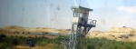 JORDANIAN BORDER GUARD TOWER KING HUSSEIN BRIDGE  (click photos to enlarge)