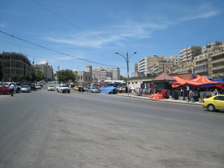 Abdali Market Amman Jordan