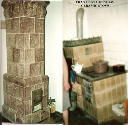 009 FRANTISKY HOUSE 35 HEATER STOVE