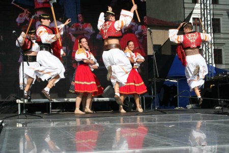 Czech festival Dancers in Straznice