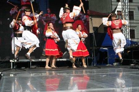 Czech festival Dancers in Straznice