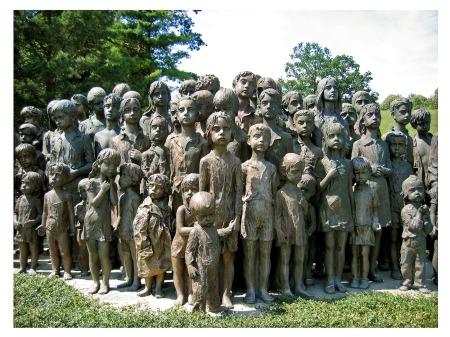 lidice_children_Memorial_