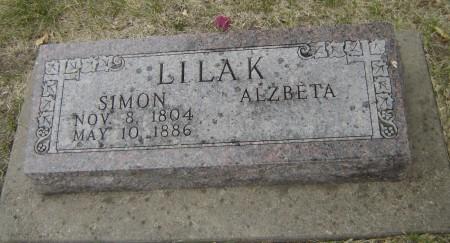 Lilak Simon Grave Stone