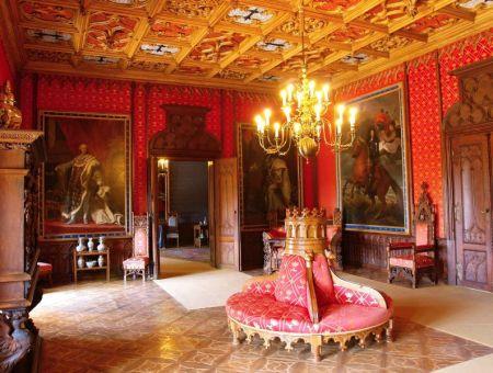 sychrov-castle inside
