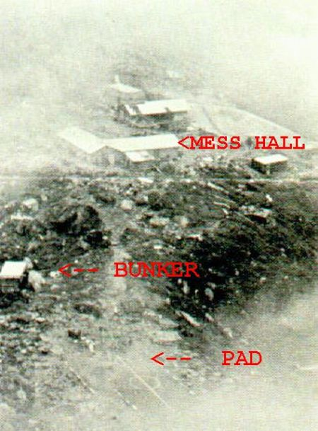 MESS HALL BUNKER PAD Nui Ba Den Base Camp 4a73bac0