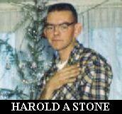 STONE HAROLD DOB 19 JUN 1938