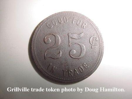 Grillville trade token MVC-005S
