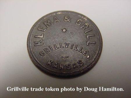 Grillville trade token MVC-010S