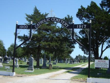 Wilson Cemetery Gate